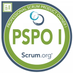 Professional Scrum Product Owner I